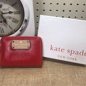 NWT Kate Spade Red Wallet